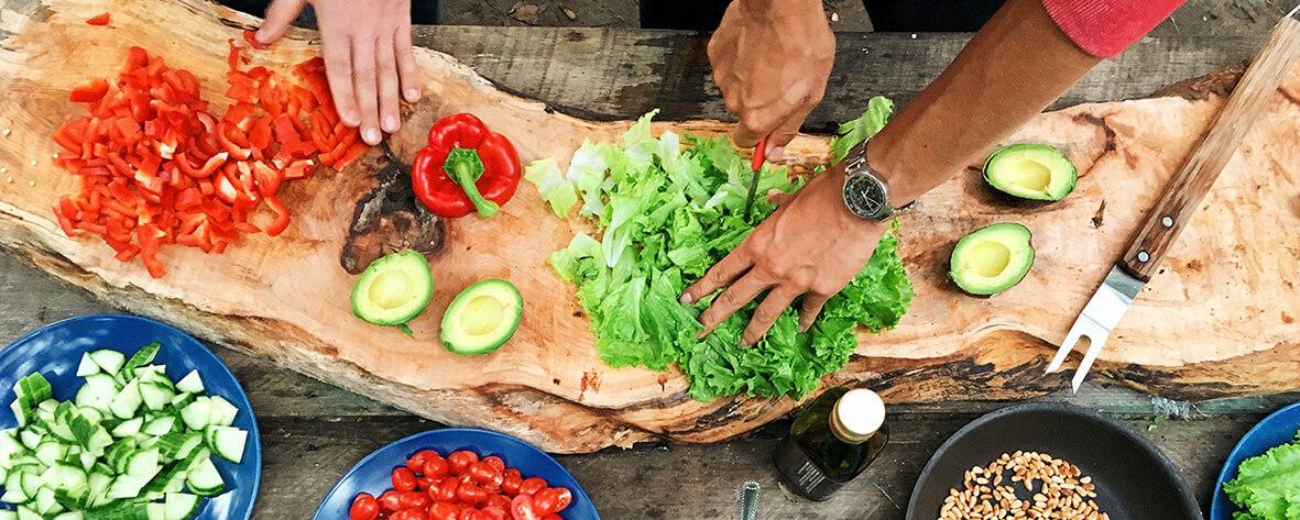 Kochen als kreative Beschäftigung