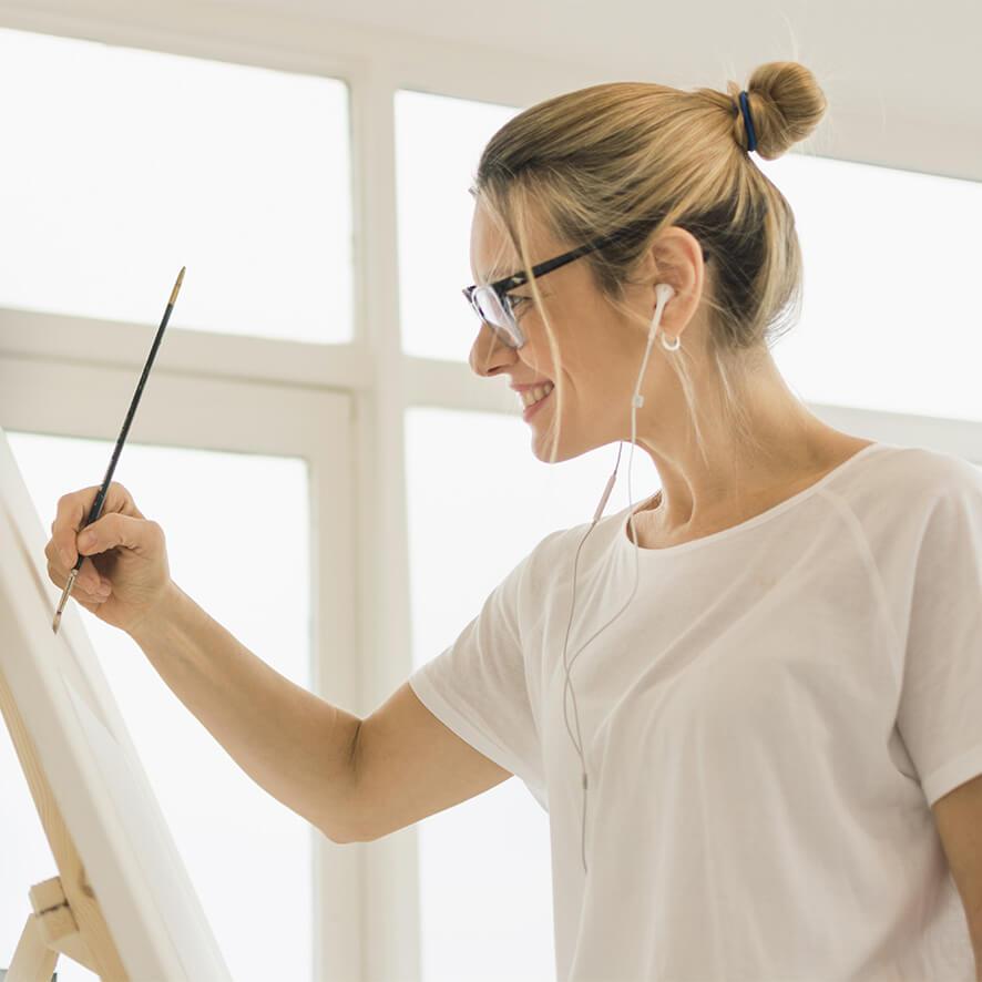 Stressmanagement durch kreative Hobbys